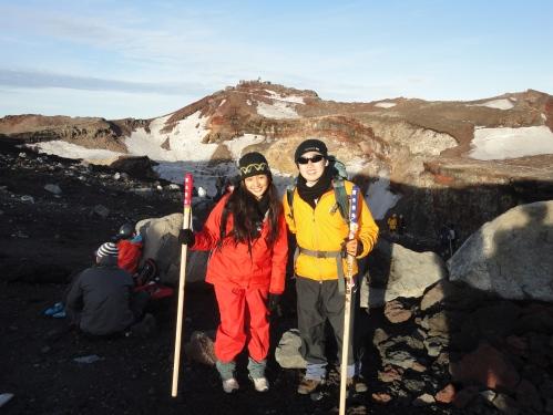 Conseguimos!! Topo do Monte Fuji